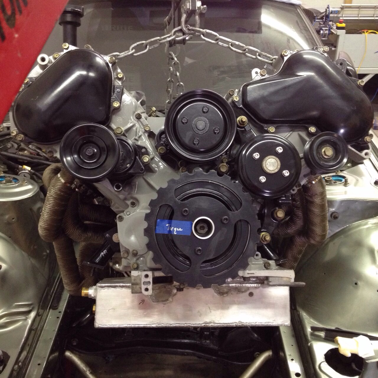 front view of vk56 in s13 going in